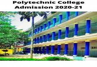Polytechnic College Admission 2020-21